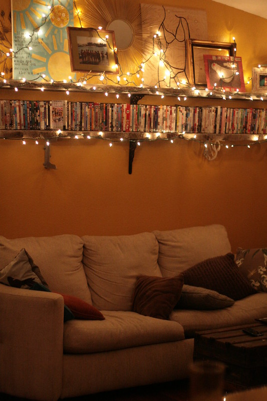 tacky christmas lights.