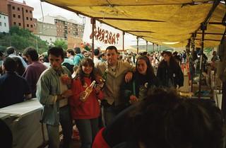 Nafarroa Oinez 1992, Viana.