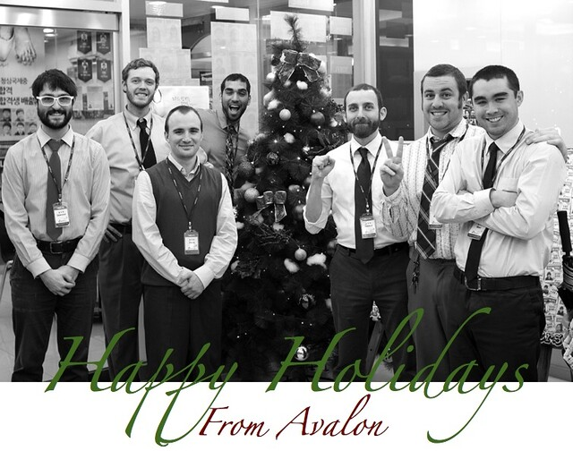 Happy Holidays from Avalon 2012