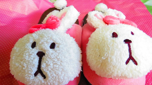 Bunny Artbox slippers