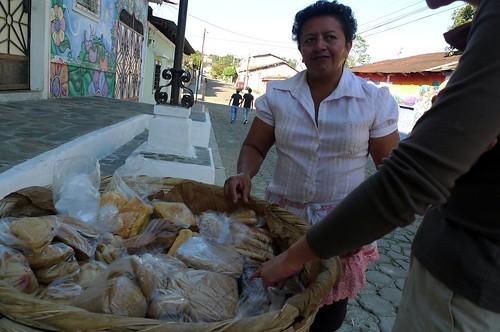 Bread Lady - Ataco, El Salvador