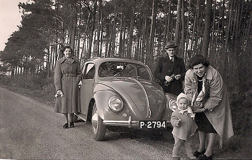 P-2794 Volkswagen Kever 1950 by Wouter Duijndam