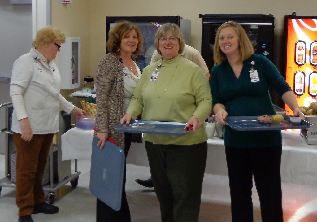 Rehabilitation staff prepare to feast!