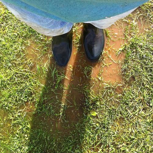 Au soleil, les pieds dans l'eau - version champêtre
