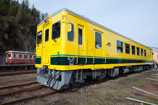 いすみ鉄道 いすみ350形 いすみ351 入換