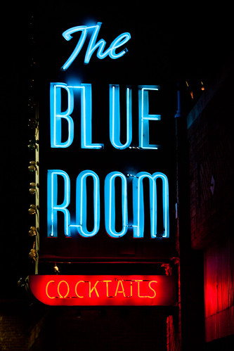 Let's Drink at The Blue Room Tonight by Thomas Hawk