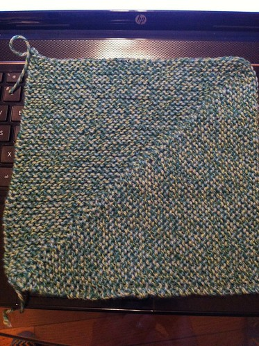 First blanket block done! by BlueDragon2