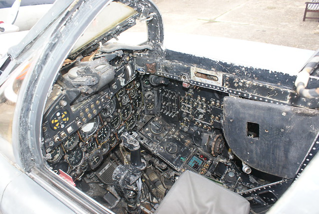 Sea Vixen Cockpit