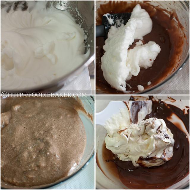 Chocolate Log Cake (A Healthier Version)