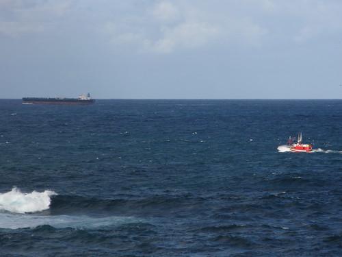 Dos barcos by treboada