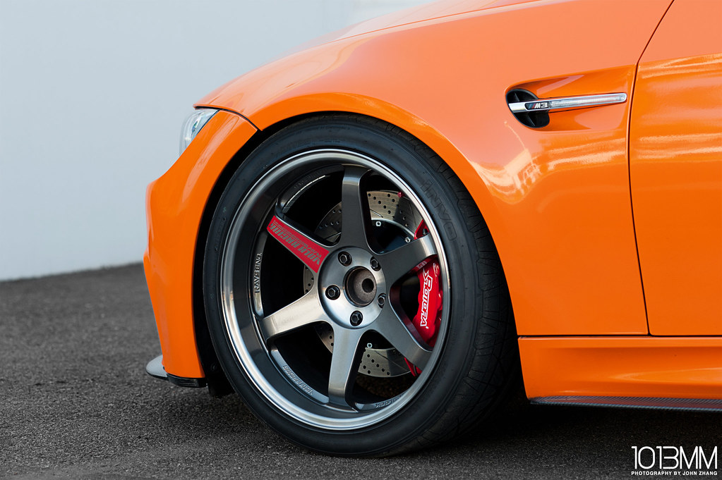 Rotora Orange BMW M3 Coupe