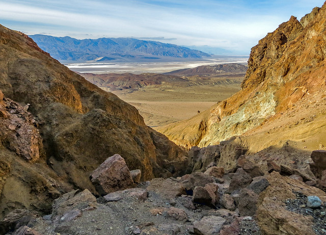 View to Death Valley from Artist Canyon #1