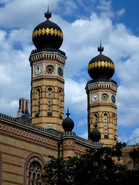 Budapest - jour 1 - 39 - Dohány utcai Zsinagóga (Grande Synagogue)