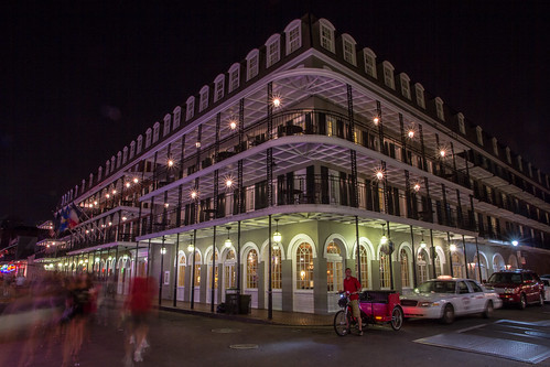 old city longexposure travel party vacation people urban night canon french landscape lights artwork louisiana screensaver outdoor famous neworleans stock historic nighttime bayou frenchquarter 7d nola bourbonstreet stockphotography americansouth 1585 stockart frameableart