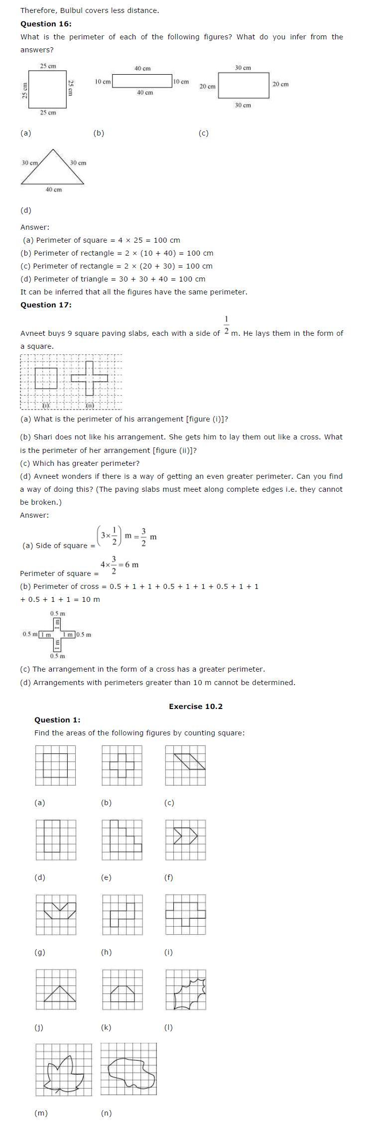 ncert solutions for class 6 maths chapter 10