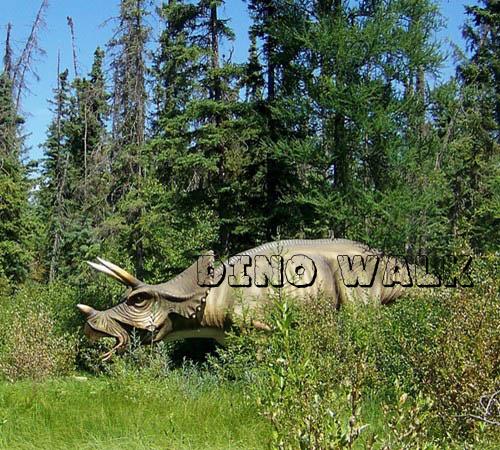 Business Plaza Animatronic Dinosaur attraction