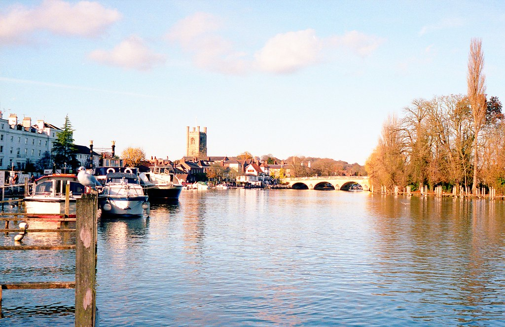 Henley on Thames on Portra Film