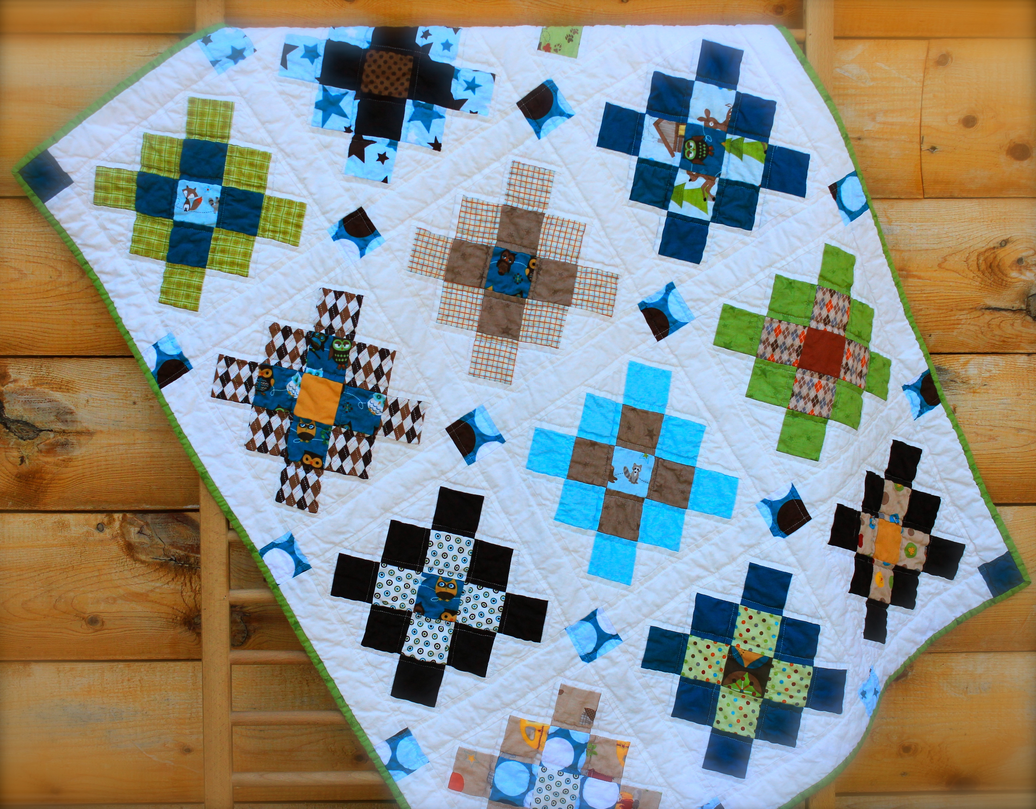 Granny Square Baby Quilt