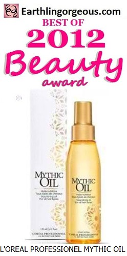 EG Beauty Awards 2012 LOreal Professionel Mythic Oil