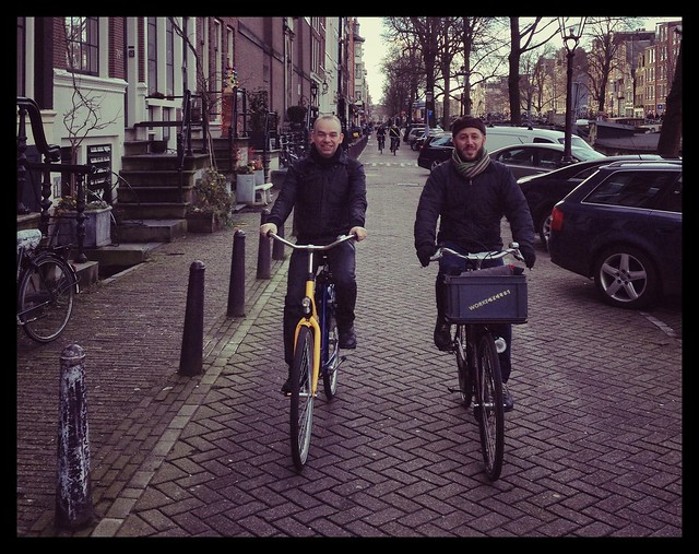@BrooklynSpoke & @BicycleDutch in #bikeAMS