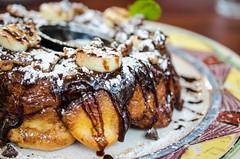 meal, breakfast, glaze, baking, meat, food, dish, dessert, cuisine,