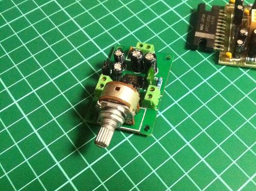 Pre-assembled Amp