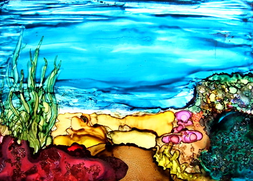 Ink Art - Undersea