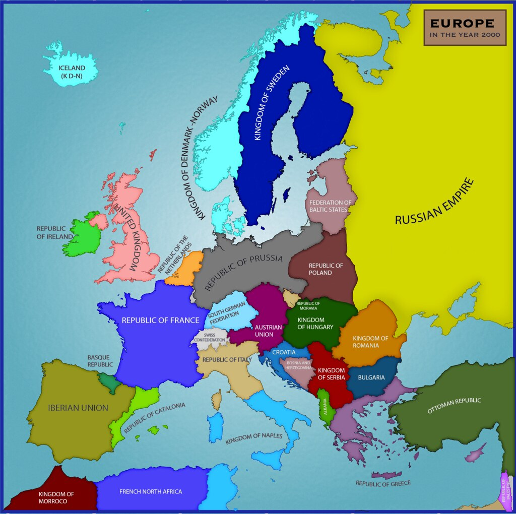 Alternative Map Of Europe.The Sino Soviet Union By Tullamareena Alternate Flags And Maps