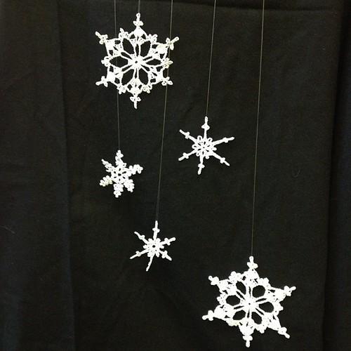 #Crochet #Snowflakes