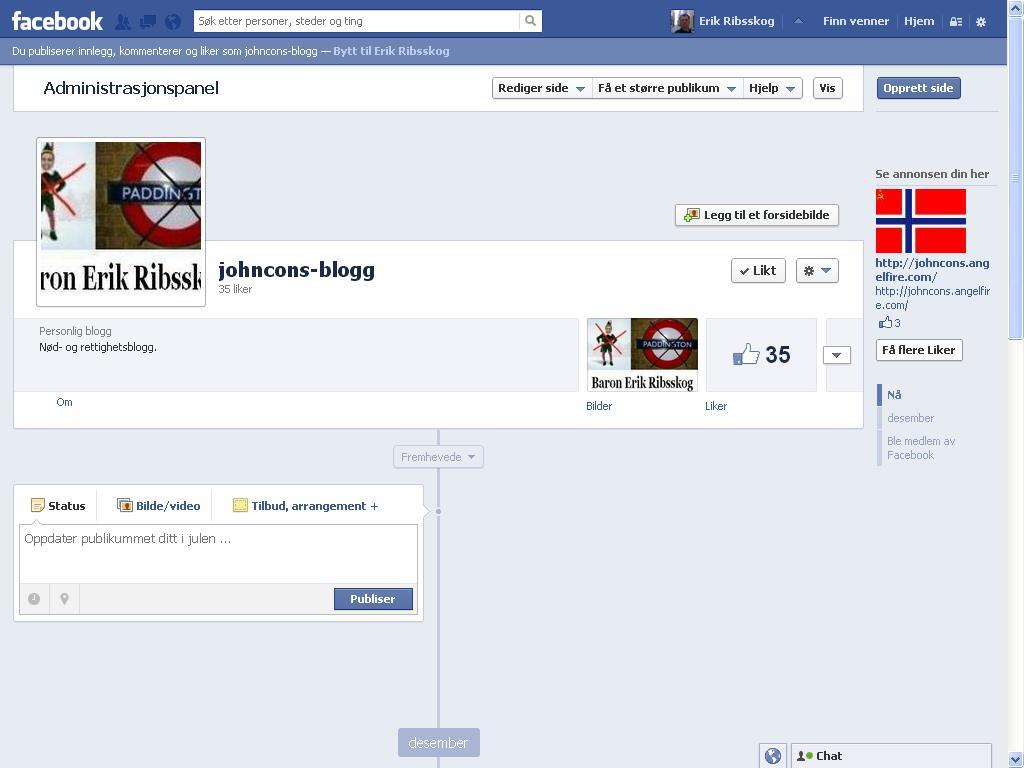 johncons blogg på facebook
