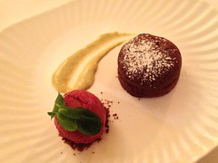 Chocolate Fondant at The Mulroy Edinburgh