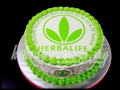 Sponge Cake for Herbalife Team!