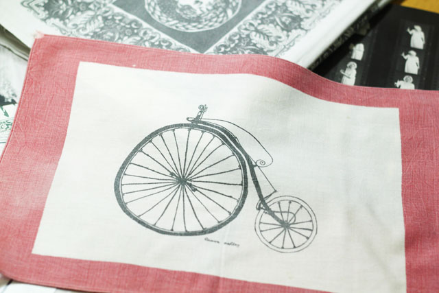 Penny Farthing Laura Ashley vintage