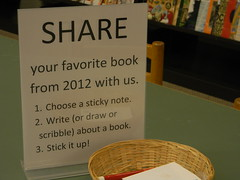 Favorite Books from 2012 by Keene Public Library