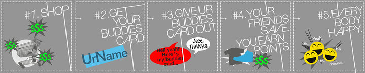 Buddies Card Benefit
