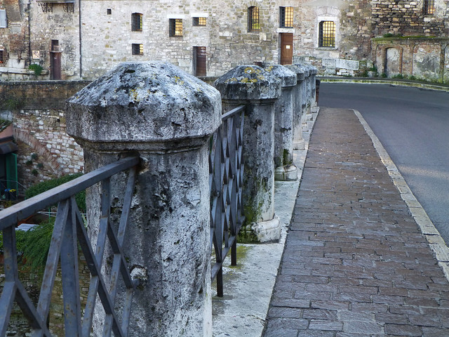 Walkway in Perugia