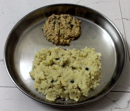 Pongal and Coconut Thuvaiyal
