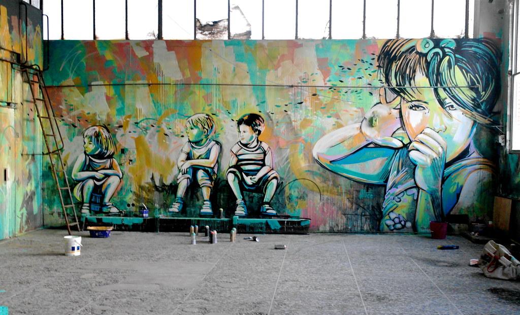 Alice Pasquini - Metropoliz - Rome