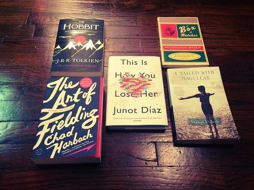 Favorite fiction 2012