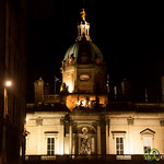 Bank of Scotland at Night - Edinburgh