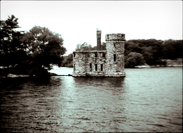 Boldt Castle, 1000 Islands, in the late 1970's