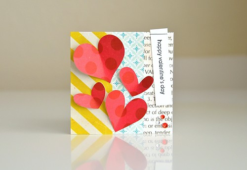 Happy Valentine's Day mini card by CloudsShadler