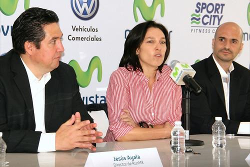 Nahila Hernandez Conferencia de prensa Movistar Telefonica