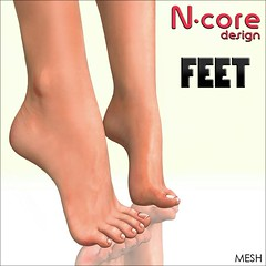 N-CORE New Feet (mesh) COMING SOON!!