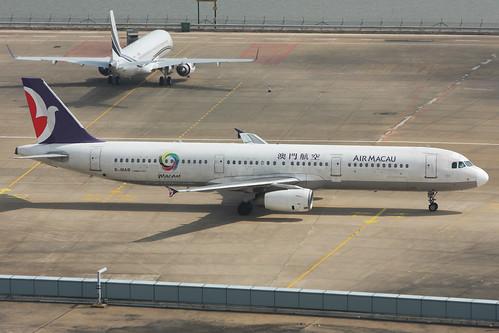 B-MAB Air Macau A321-131 Macau 10/11/2012