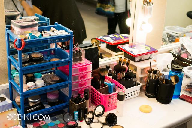 Make-up and stuff