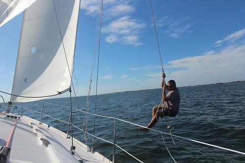Day 162: Sailing Tampa Bay.