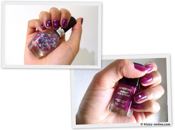 Nails Day NOTD Nail Polish COverGirl Outlast Stay Brilliant Glosses Wet Wild Fergie Hollywood Walk of Fame