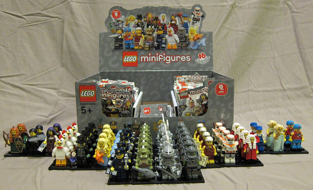 LEGO Collectible Minifigures Series 9 Unpacked
