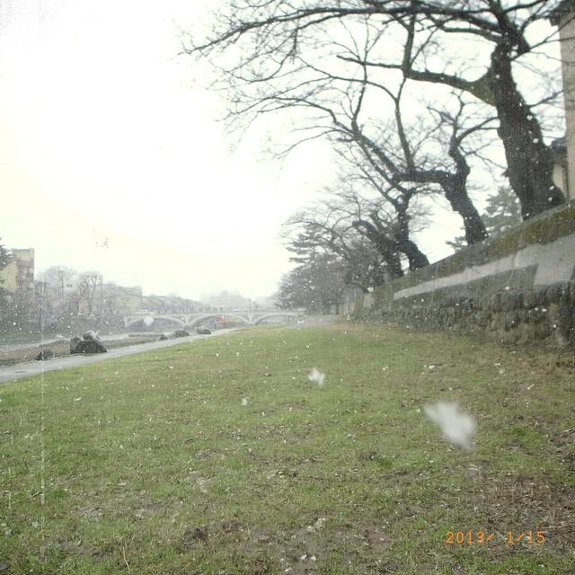 Snow again ...